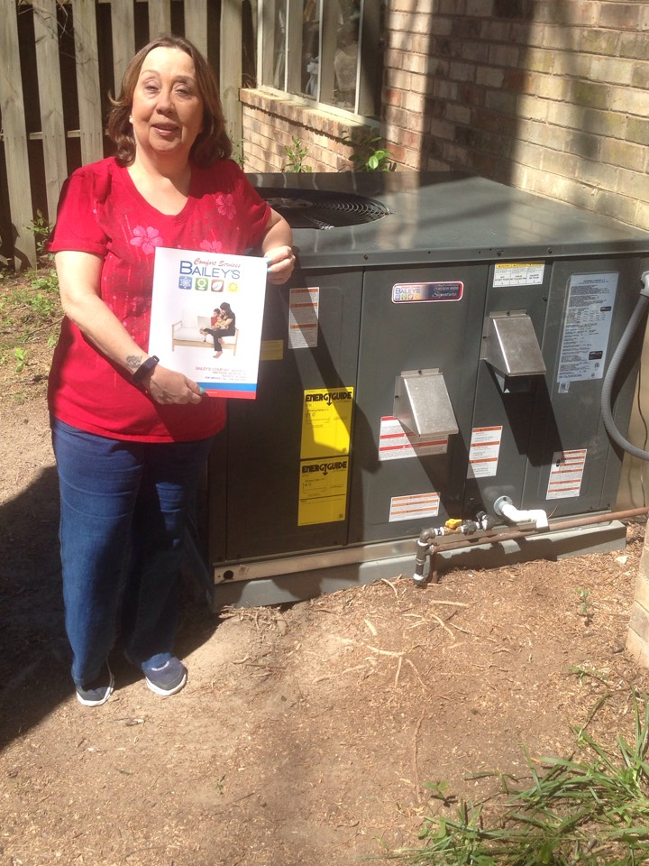 Martinez, GA - Brand Nu 14 sear 3 ton gas package unit and new duct installation