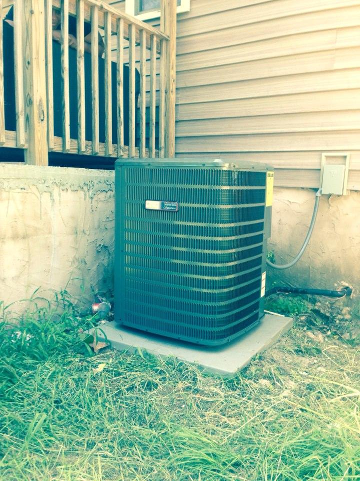 Waynesboro, GA - Energy efficient heat pump installation