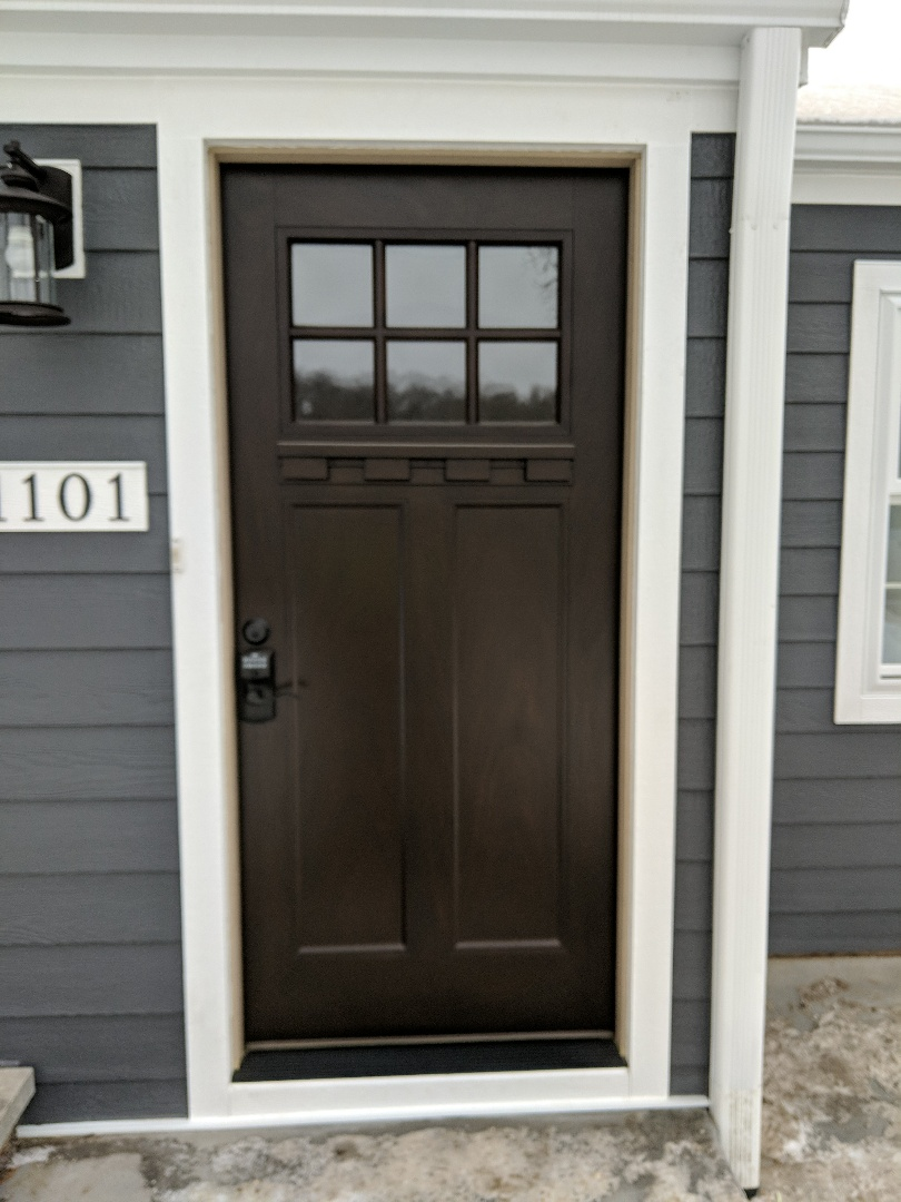 Hudson, WI - Install new front door looks great
