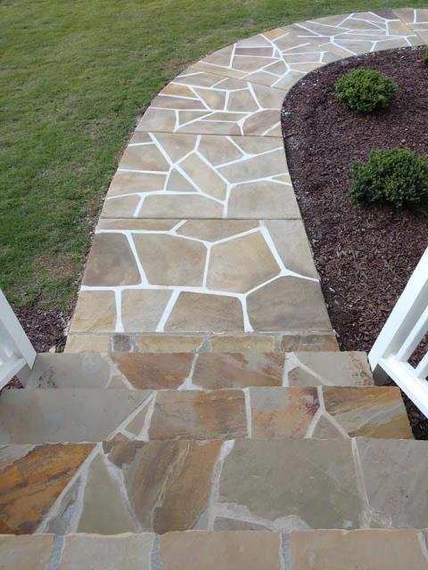 Wasilla, AK -  Wanting that symmetric rock look for your side-walk? Grand Flagstone is perfect to create your walk-way to your Home-Sweet-Home!!