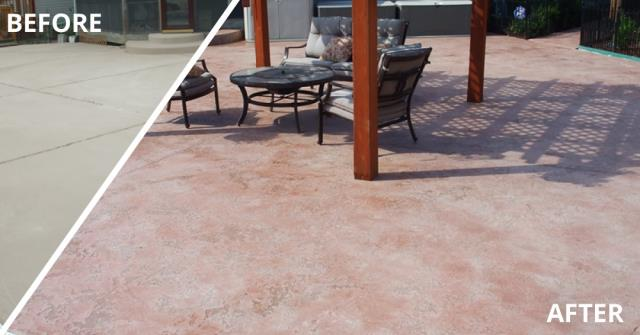 Sitka, AK -  Change your grunge patio to the space you never want to leave at an affordable price, with stained concrete!!