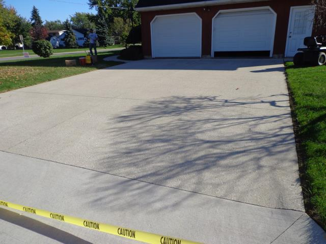 Ketchikan, AK - Victim of an ugly concrete driveway? Concrete sealing is probably what you need! Give us a call and we can help you out!