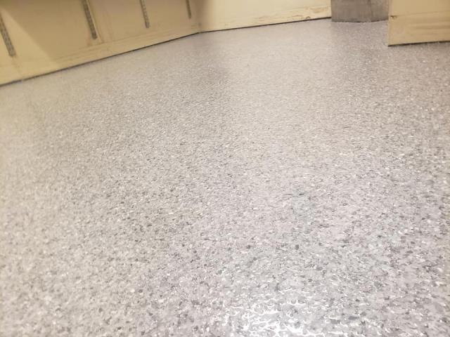 Rapid City, SD - Thanks a bunch to TNT Specialty Coatings for completing our Fire Department garage floor remodel! We are always tracking water and depress onto the floor, and the concrete was showing the damages. Jason and his crew came out to fix the issues. They placed a GRANIFLEX coat on top of the concrete to prevent future water and chemical damages to the concrete while also giving it a nice decorative look! We highly recommend TNT Specialty Coatings for your concrete services!