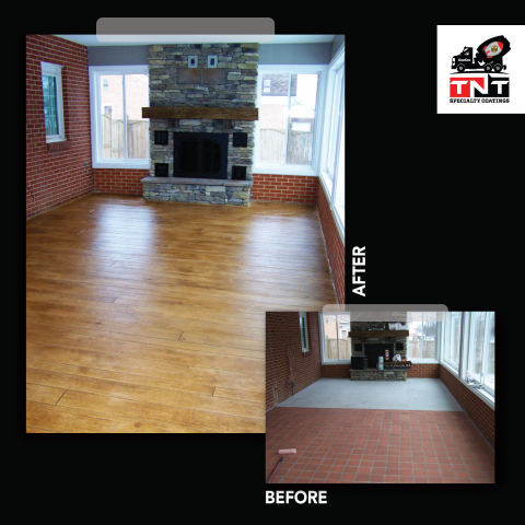 Sturgis, SD - I can not believe the transformation on our enclosed patio! It looks so much more welcoming than it did before! TNT Specialty Coatings did a fantastic job! If you are looking to remodel your home floors, I highly suggest giving them a call. They are professional, polite, and beyond talented!! We will be using them again in the future!