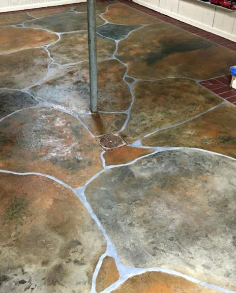 Sturgis, SD - How did they make this Grand Flagstone look so real??? It's exactly what every basement needs! I'm blown away that they can make a basement floor look so nice! TNT Specialty Coatings + my house = BRAGGING RIGHTS! 5 out of 5 stars for sure!