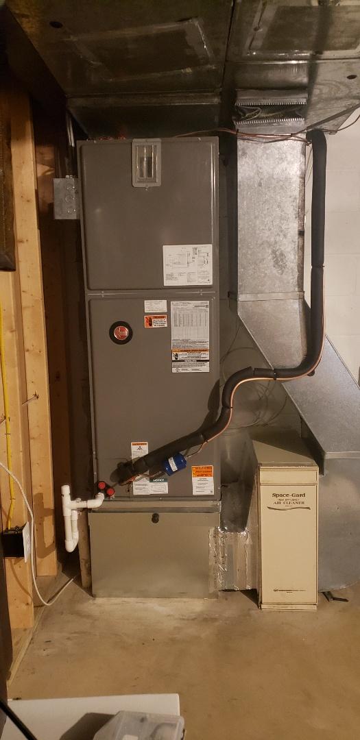 Monkton, MD - high efficiency  16 seer heatpump
