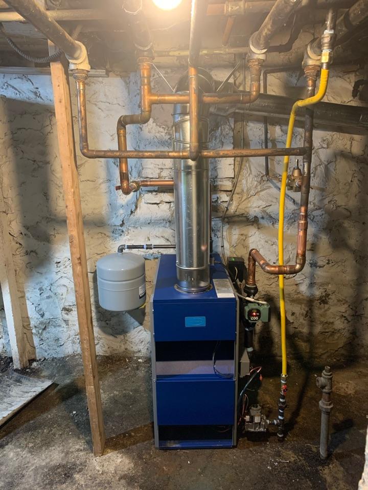 Baltimore, MD - Columbia 100,000 BTU gas fired boiler