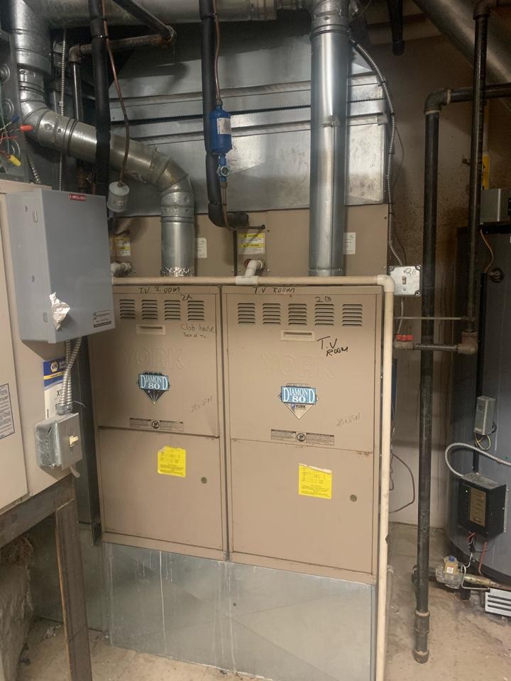 Gaithersburg, MD - Twinning York furnaces service call