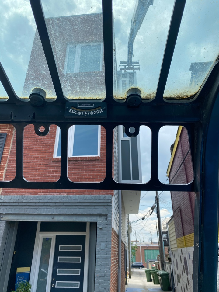 Baltimore, MD - Installing 2 HVAC systems on rooftop decks with a boom lift in canton.