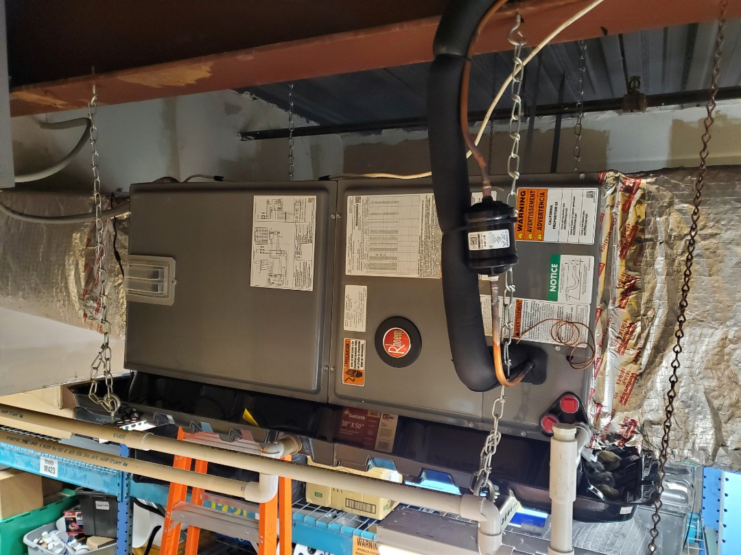 Annapolis, MD - Another satisfied Heat Pump replacement customer in Annapolis. This is for a commercial office space.