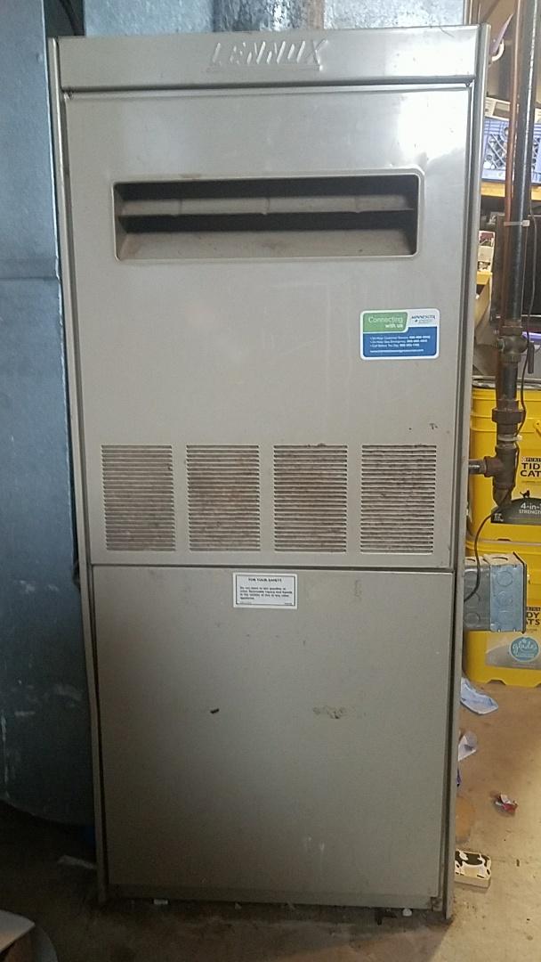 Lakeville, MN - No heat service call on a Lennox furnace