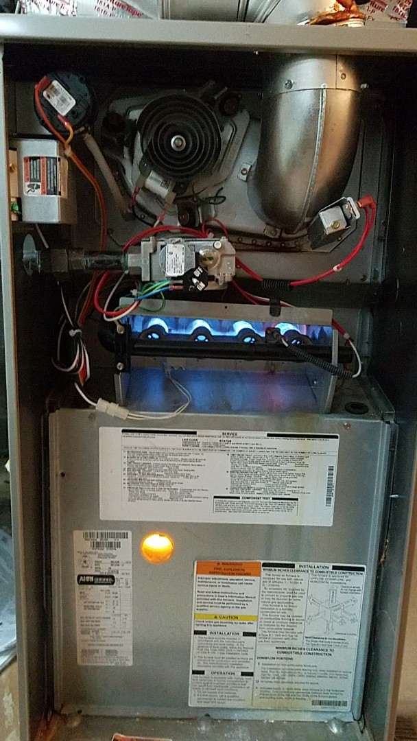 Burnsville, MN - No heat service call. Performed a repair on a Carrier furnace