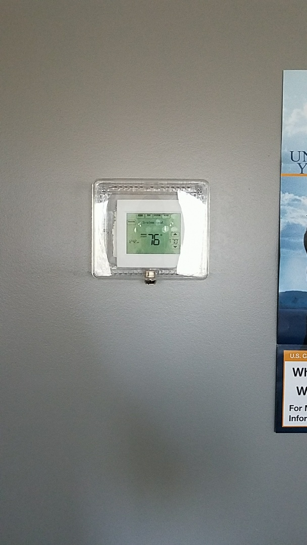 Burnsville, MN - Install programmable touch screen thermostats