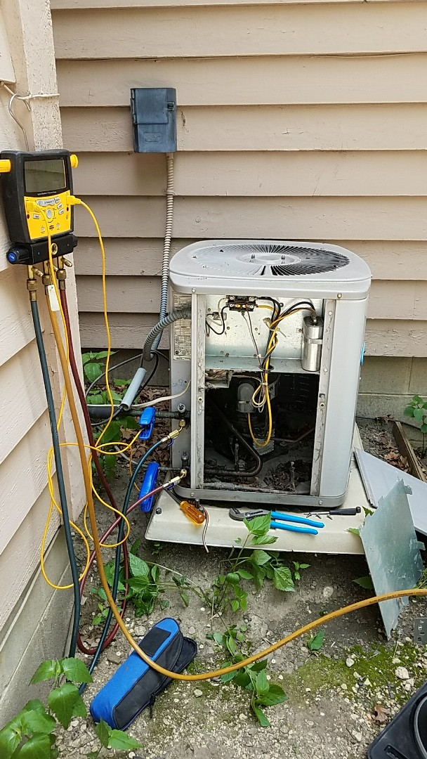 Burnsville, MN - No cooling on a Carrier air conditioner.