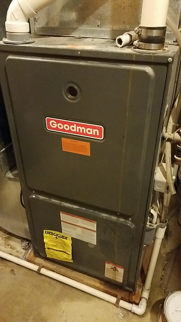 Burnsville, MN - Ac service call. Performed a repair on a goodman furnace. Replace blower motor