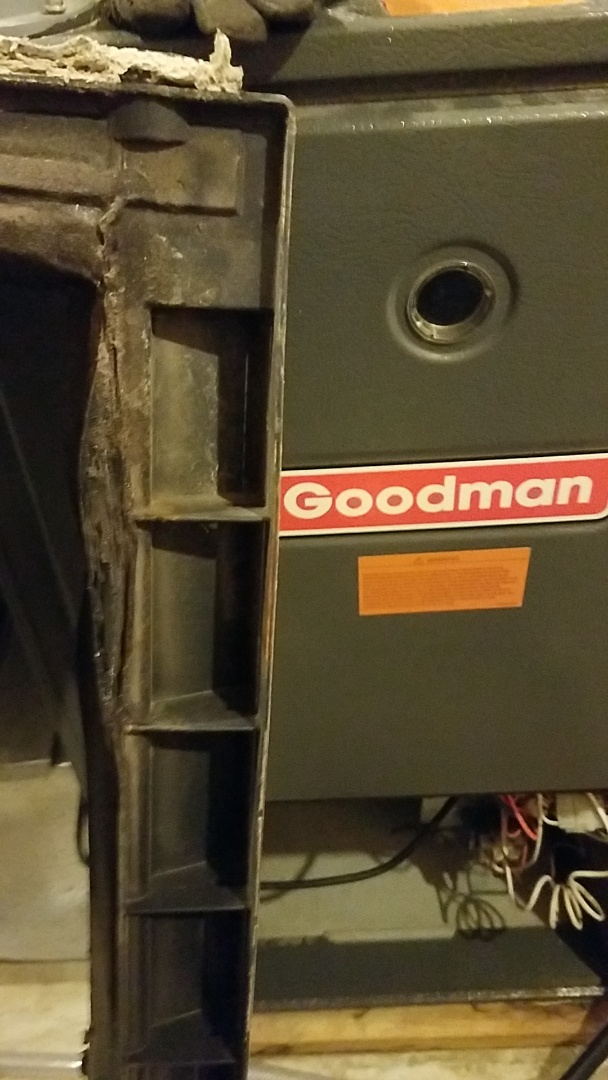 Burnsville, MN - Ac service call. Performed repair on a Goodman Air conditioner