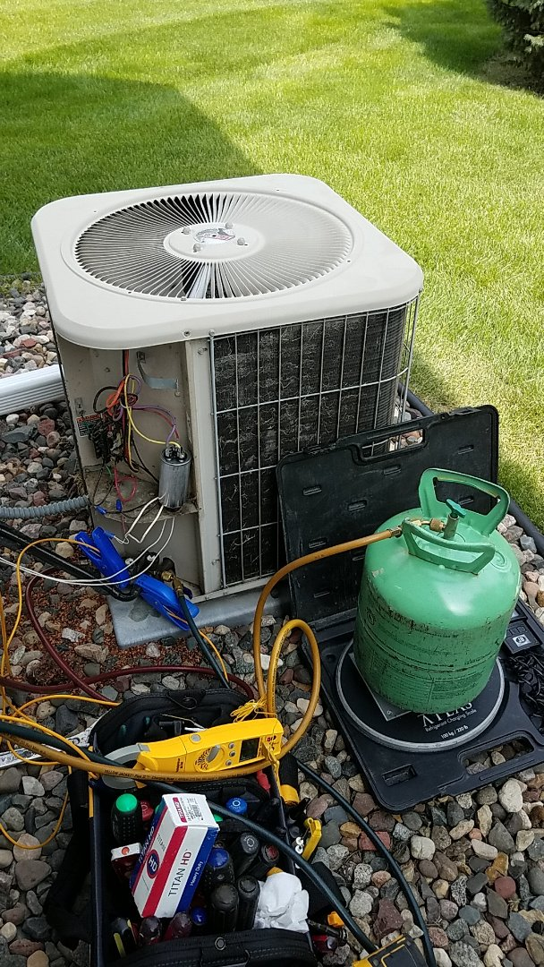 Apple Valley, MN - No cooling service call. Performed a A/C repair on a Lennox unit
