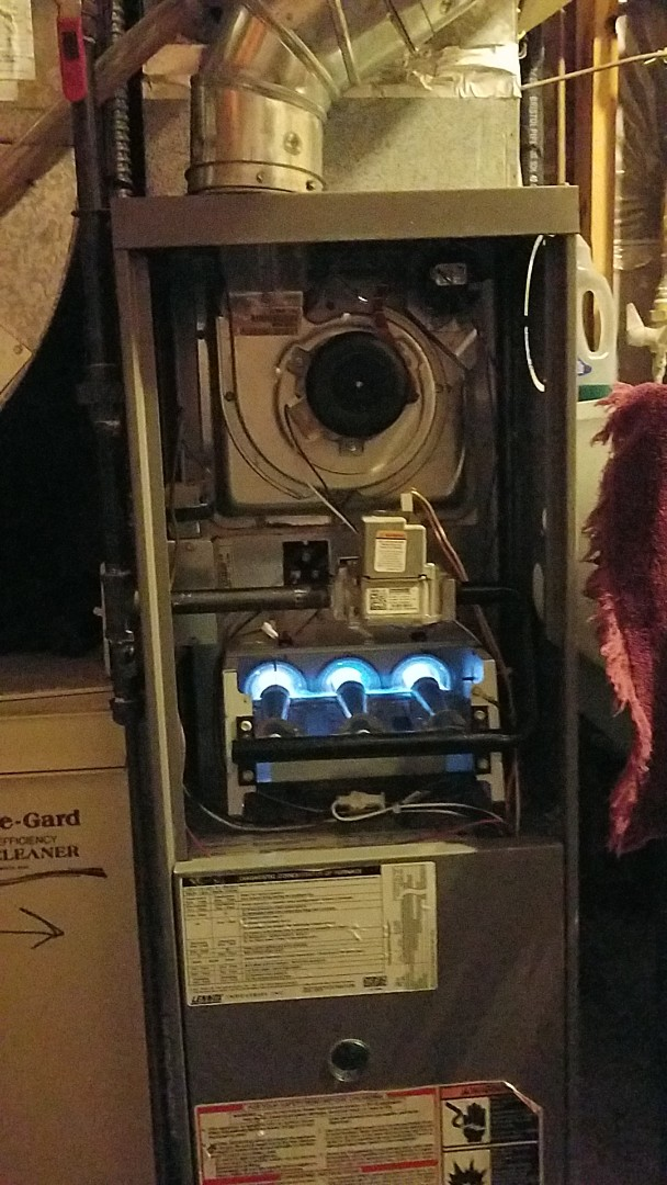 Eagan, MN - Furnace tune up. Performed a maintenance on a Lennox furnace
