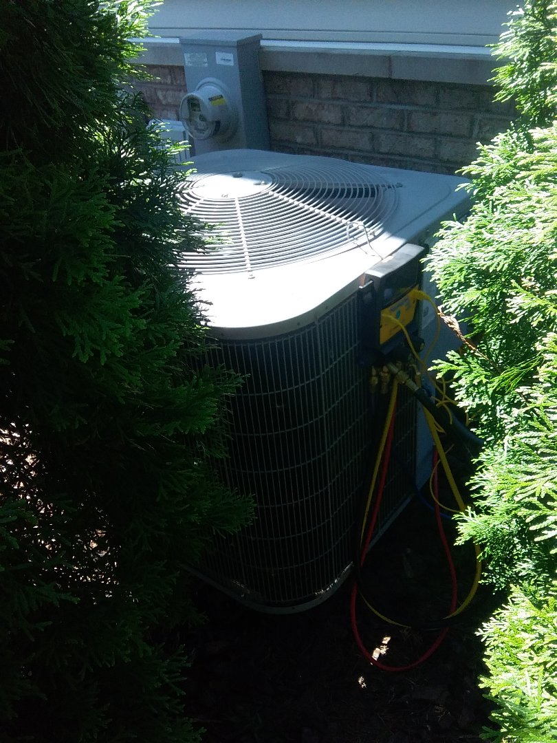 Naperville, IL - Completed a.c maintenance on a carrier system