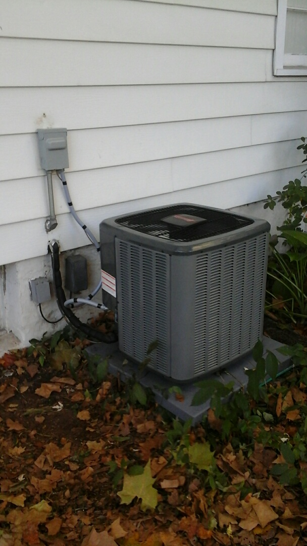Joliet, IL - Serviced an amana 2 stage 16seer a/c system