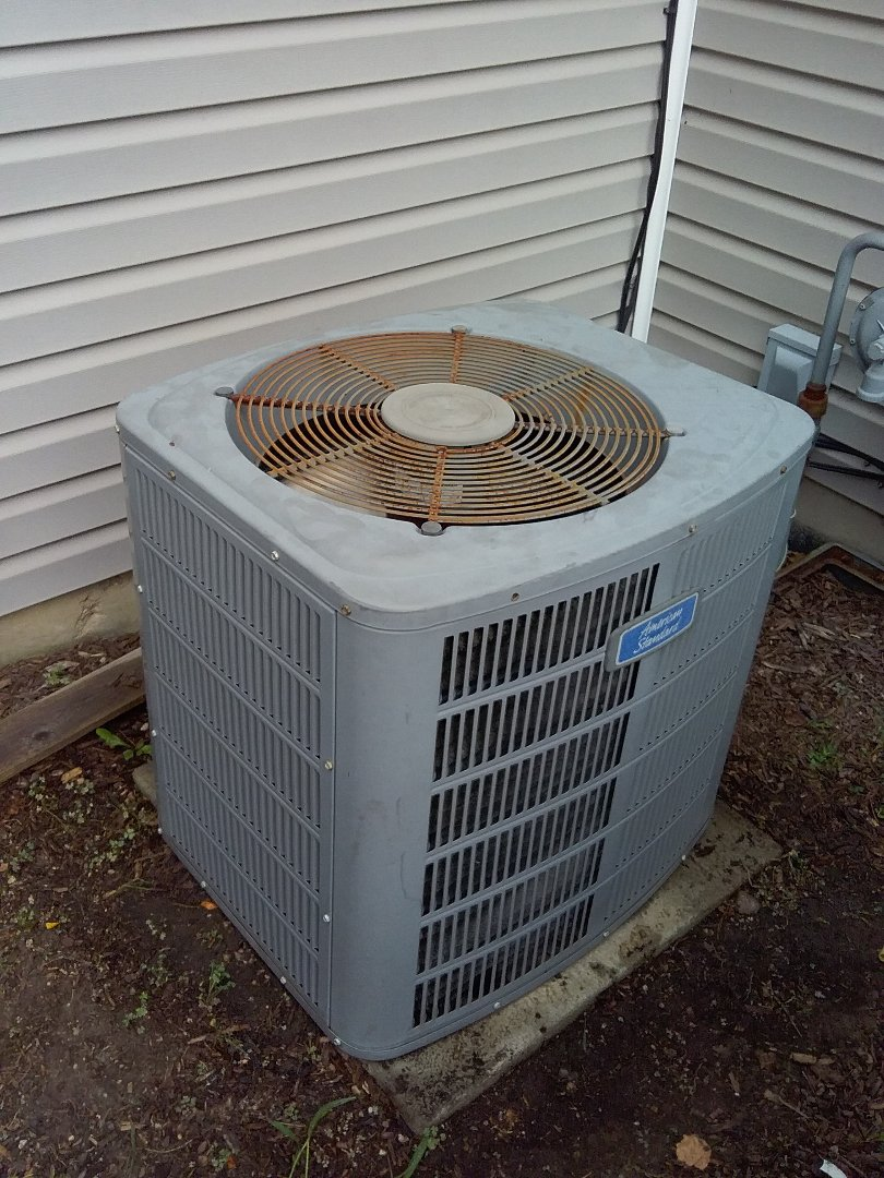 Naperville, IL - Maintenance on an American Standard AC