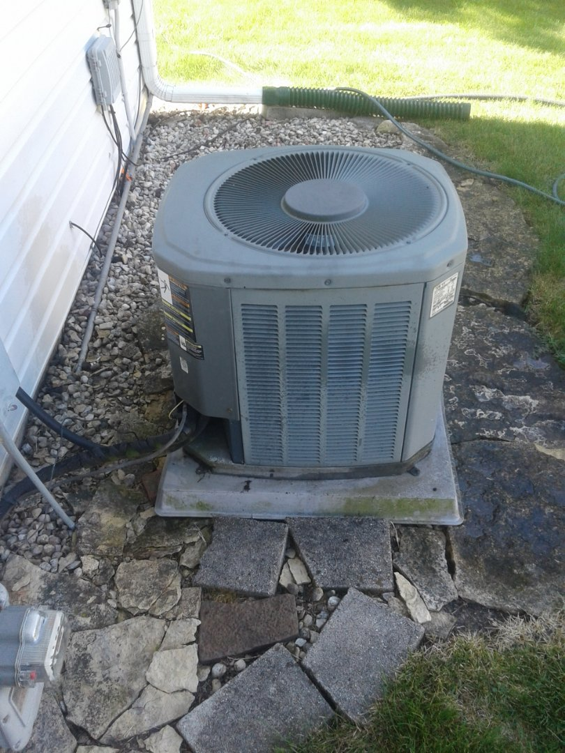 Naperville, IL - Complete a.c. maintenance on American standard. All is working properly.