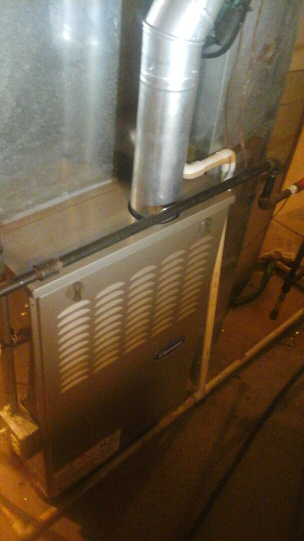 Oswego, IL - Serviced and repaired a carrier furnace