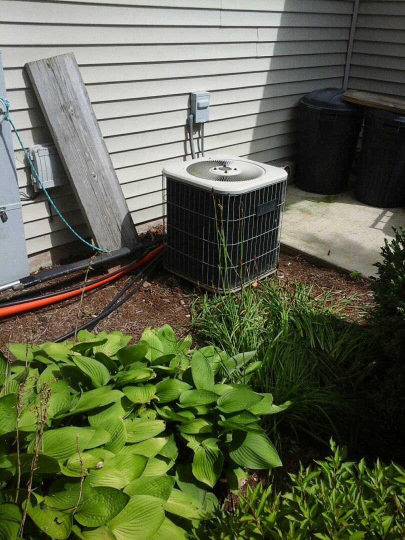 Serviced and repaired a Lennox a/c system