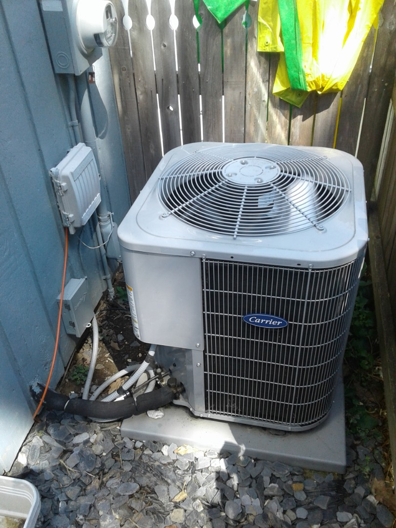 Complete a.c. maintenance. Dual cap has been replaced and ac is now functioning properly. Also performed furnace maintenance which is in good working condition. Ducts have been cleaned and sanitized.