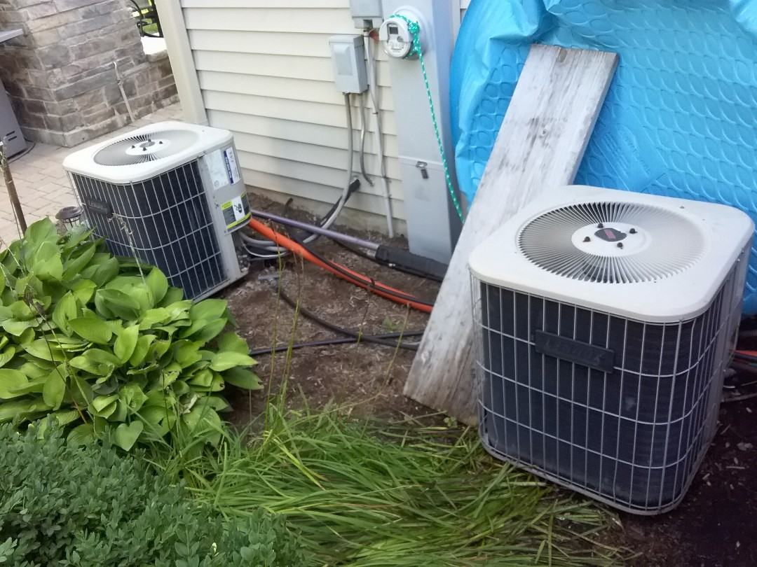 Double maintenance on Lennox AC