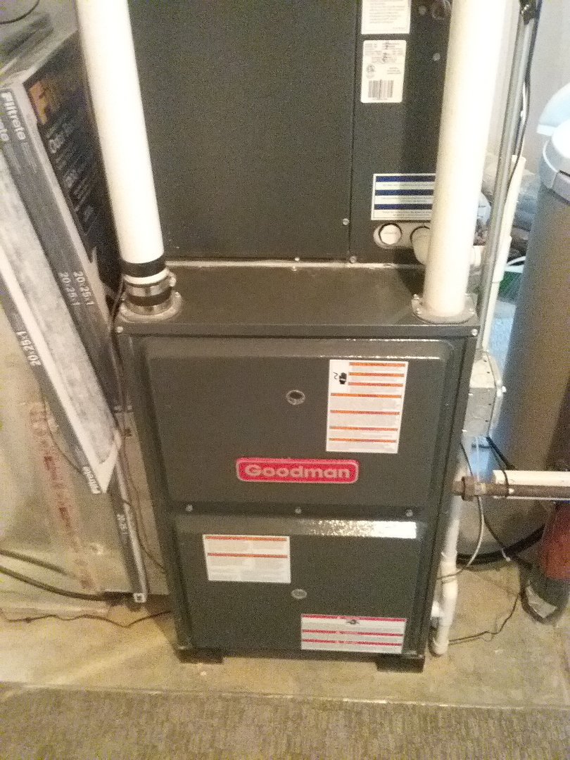 Furnace maintenance on a Goodman Unit