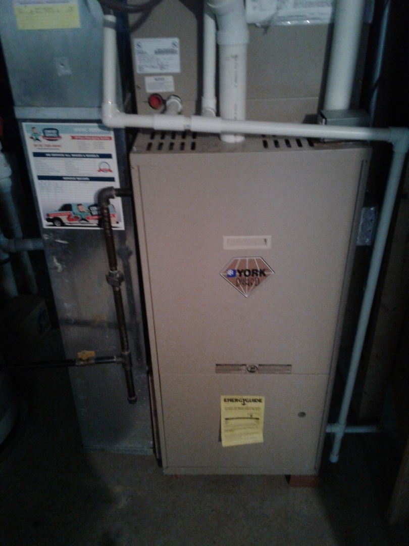 Complete furnace maintenance. All components are operating properly at this time.