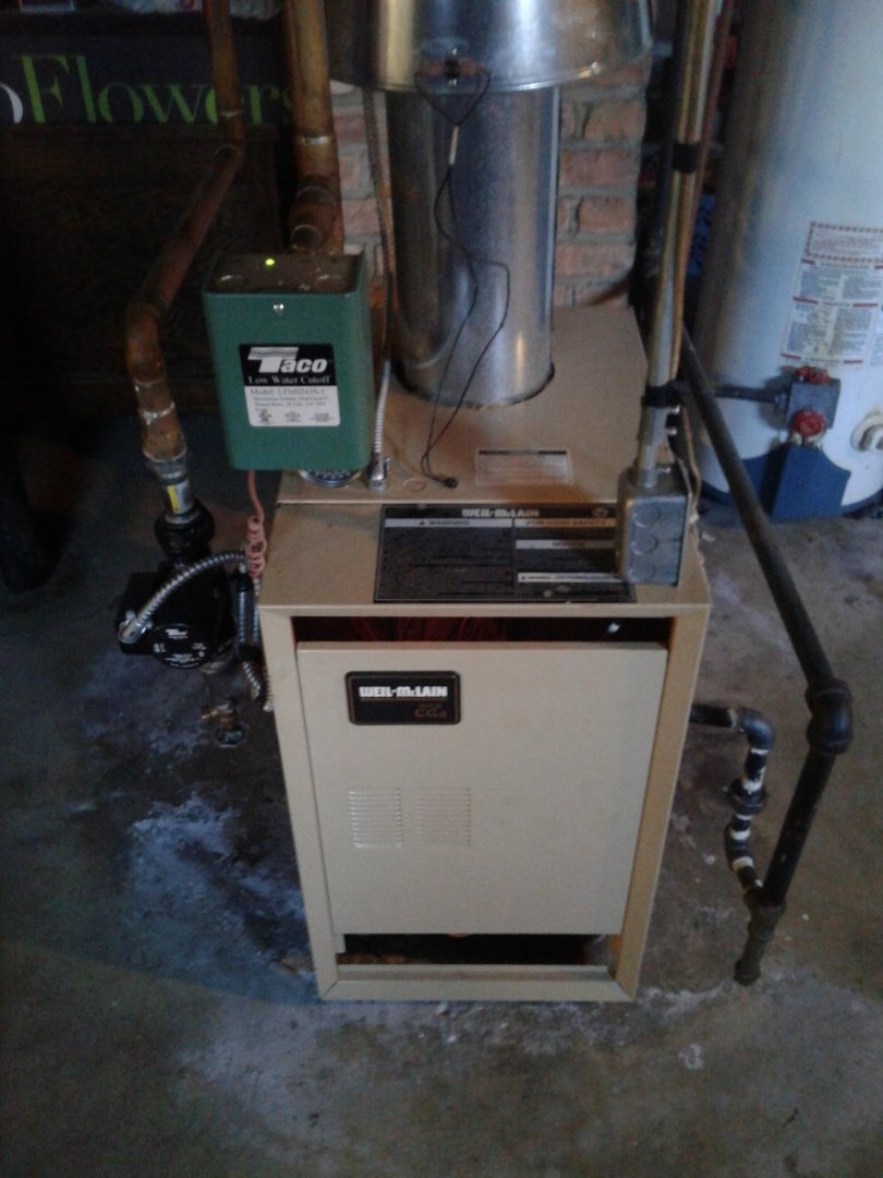 Lemont, IL - Complete boiler maintenance on well McCain. All is working properly at this time.