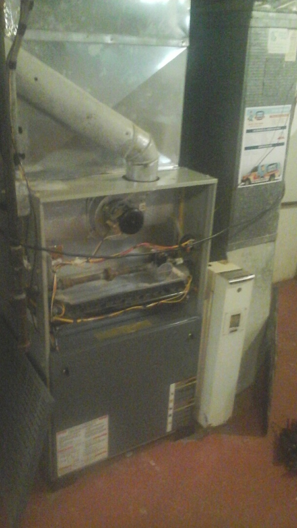Joliet, IL - Completed furnace maintenance