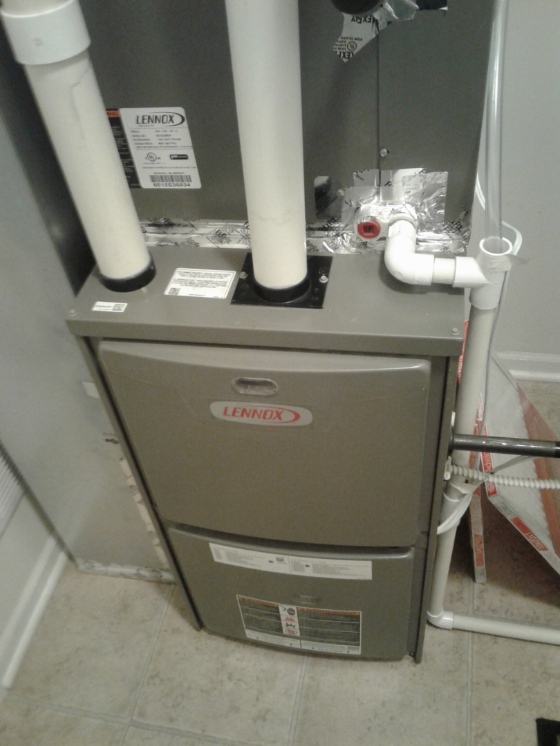 Complete furnace maintenance on Lennox. l components are operating properly at this time.