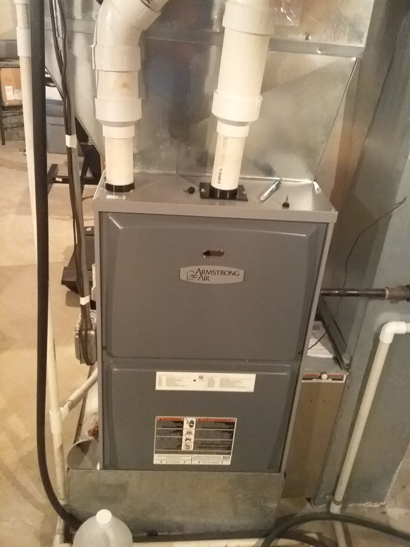 Naperville, IL - Maintenance on a Armstrong furnace