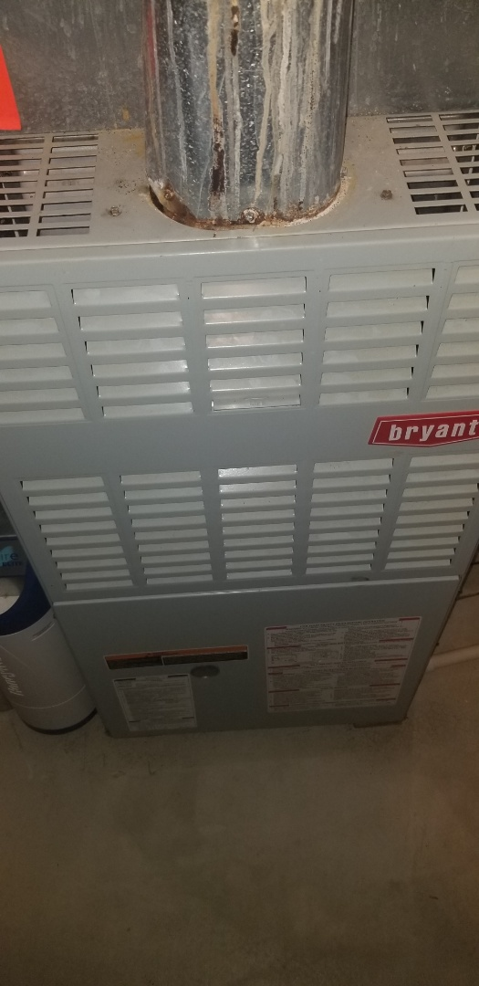 Plainfield, IL - Complete furnace maintenance on bryant. All is operating properly.