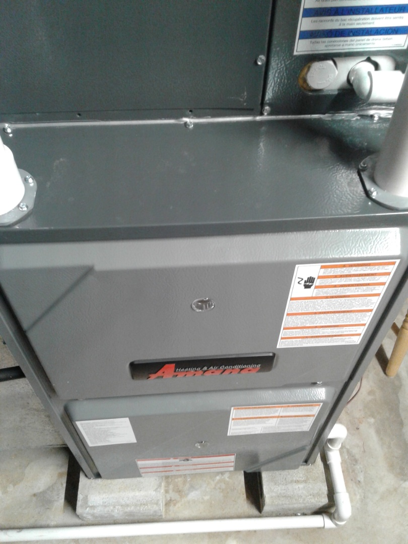 Plainfield, IL - Complete furnace maintenance on Amana. All components are operating properly at this time.