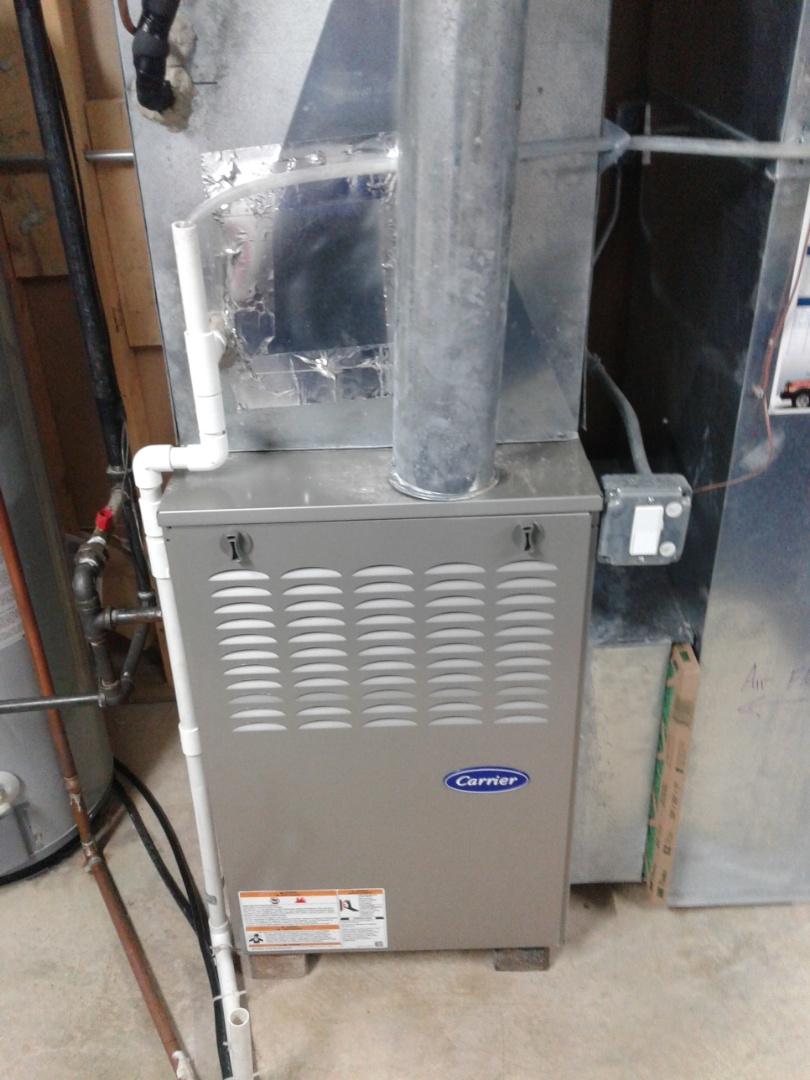 Crest Hill, IL - Complete furnace maintenance on carrier. All components are operating properly at this time.
