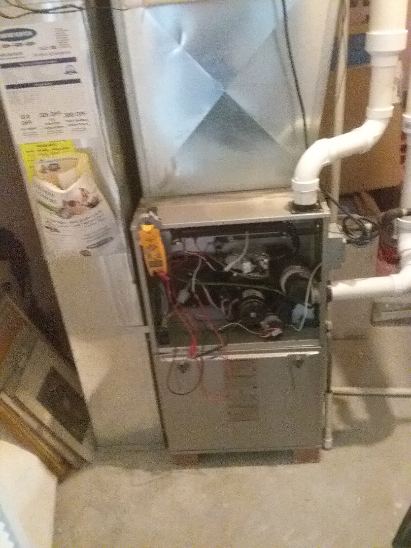 Winfield, IL - Completed furnace maintenance