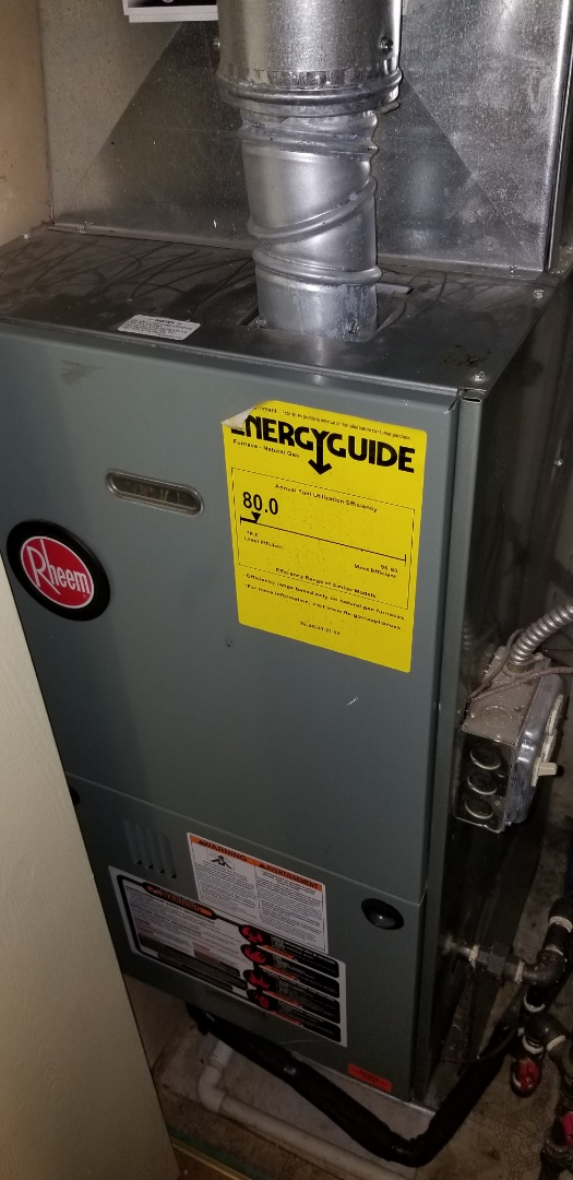 Aurora, IL - Complete furnace maintenance on rheem. All is working properly at this time.