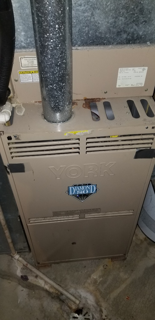 Aurora, IL - Complete furnace diagnostic on york. Replaced ignitor; all is now operating properly.