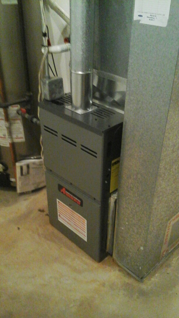 Serviced a goodman/amana  furnace system