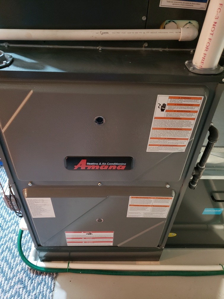 Complete furnace and humidifier maintenance. All is operating properly.
