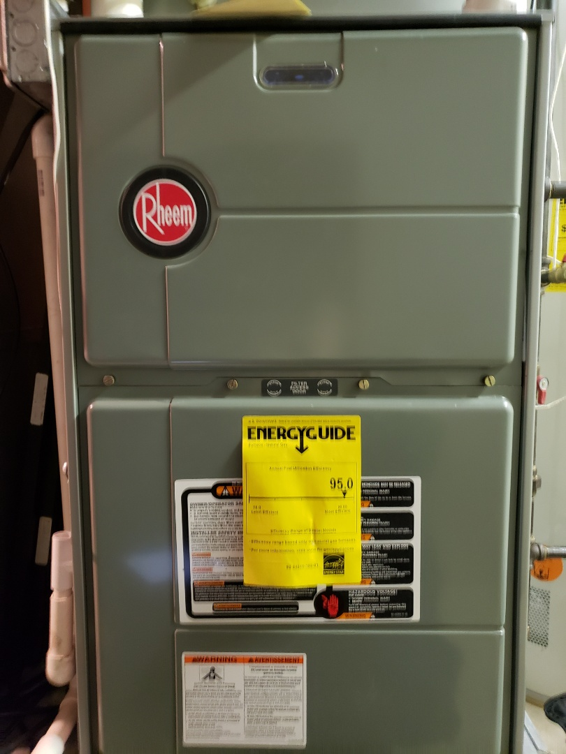Aurora, IL - Complete furnace maintenance. Equipment is working properly.
