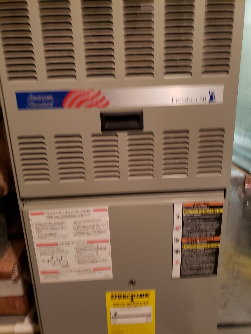 Plainfield, IL - Complete furnace maintenance. All equipment is working