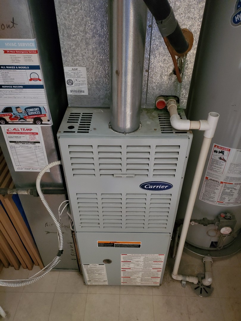 Aurora, IL - Complete inducer motor replacement and furnace c/c. All is operating properly at this time.