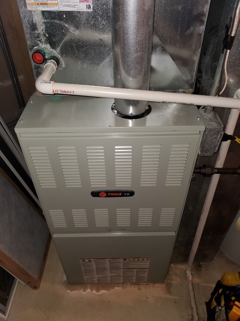Complete furnace maintenance. Replaced run cap; all is operating properly at this time.