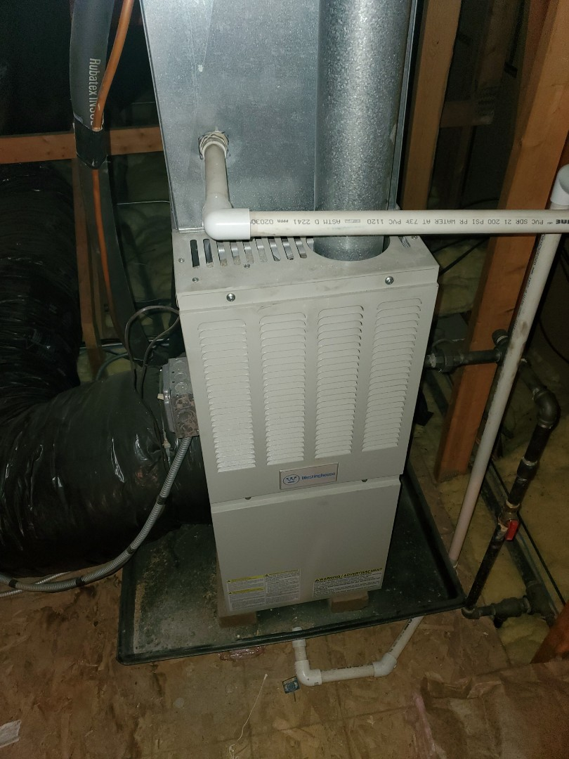 Joliet, IL - Complete furnace diagnostic. Clogged inlet; all is okay at this time.