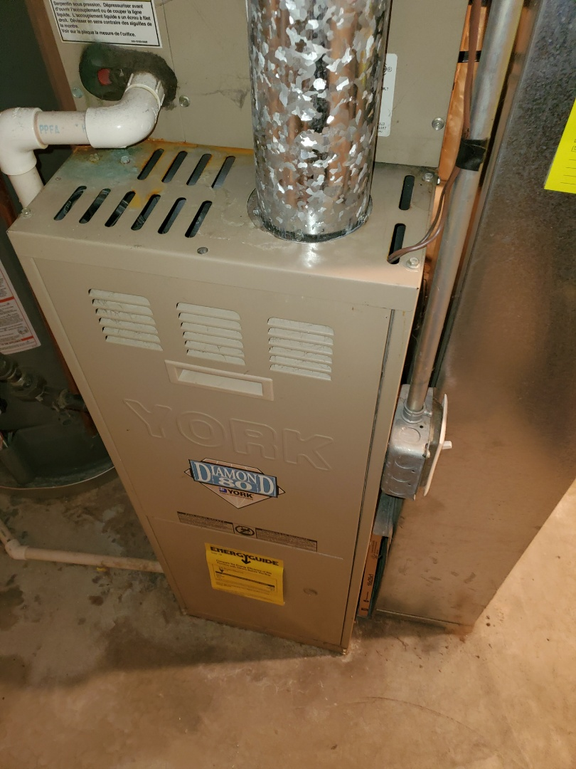 Oswego, IL - Complete furnace diagnostic. Replaced blower motor; all is operating properly at this time.